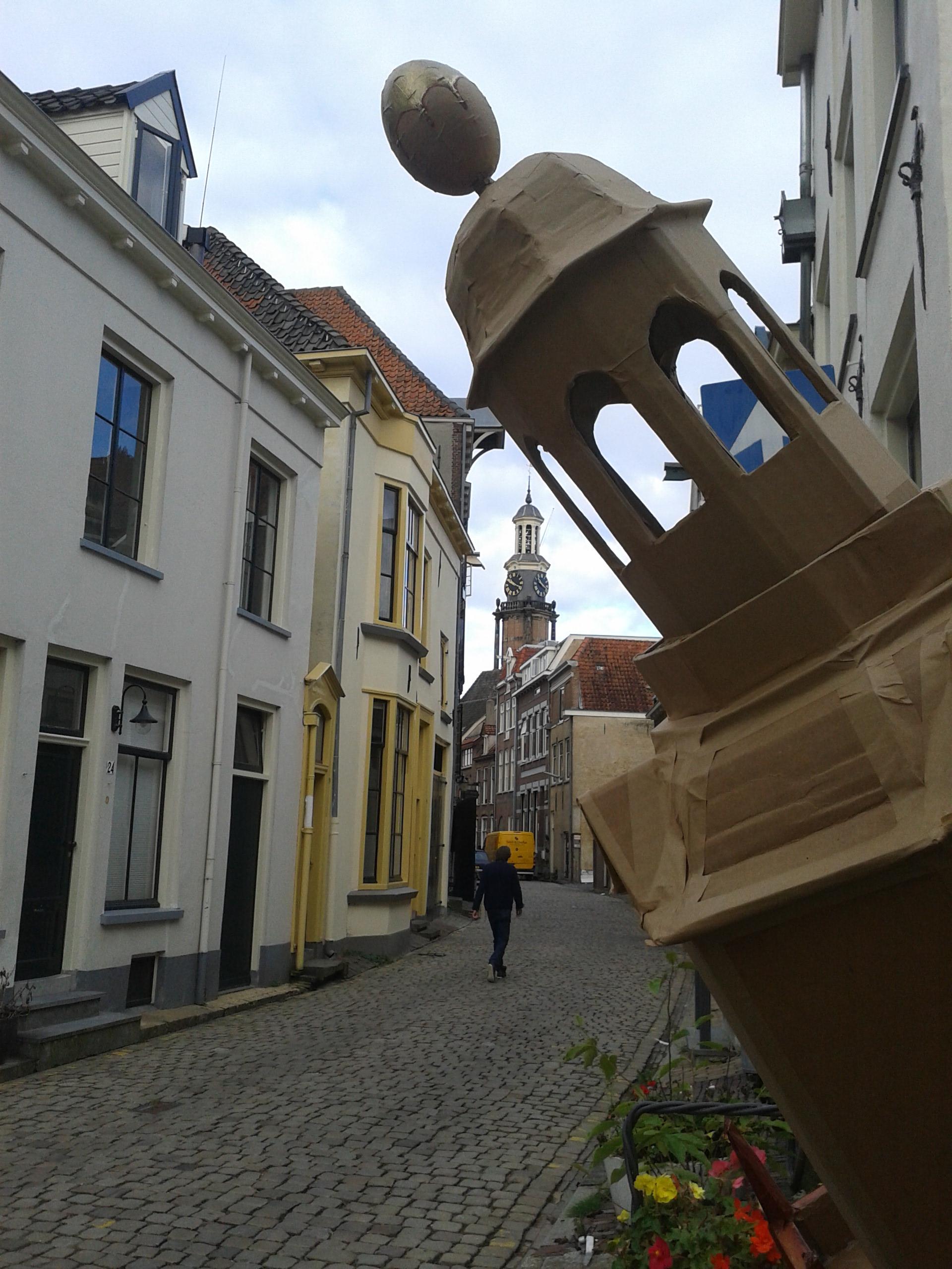 Toren in de torenstraat - Sylvie Uenk
